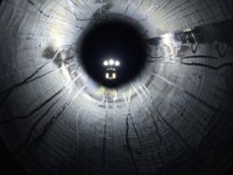 Die Rohrreinigung bietet Einblicke in das Rohrsystem