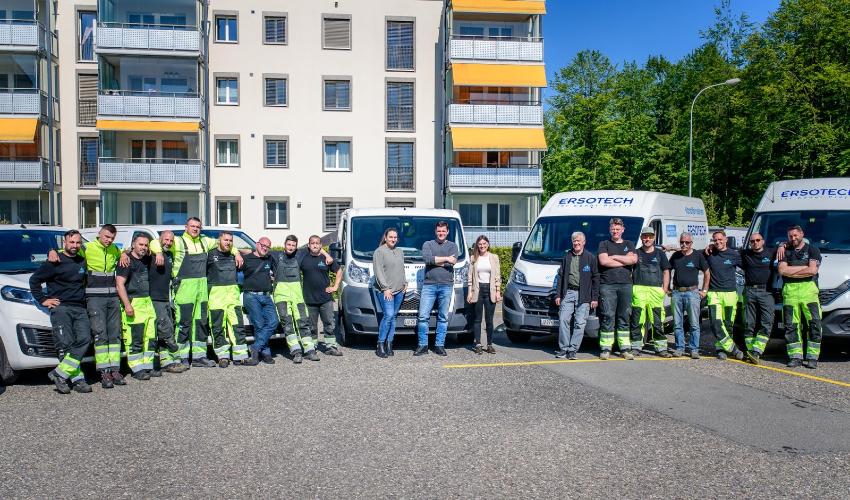 Ersotech AG: Ihre Rohrreinigung in Zürich
